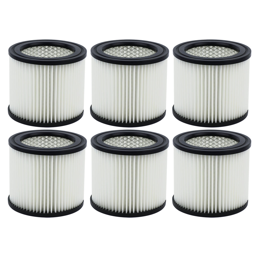 6 Pack Shop-Vac 90398 Small Cartridge Filter Type AA for Wet & Dry Vacuums 903-98 90399 903-99