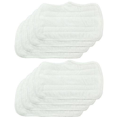 8 Pack Felji Replacement Microfiber Pads For Shark Steam Mop Euro Pro S3101 S3250, Part XT3101