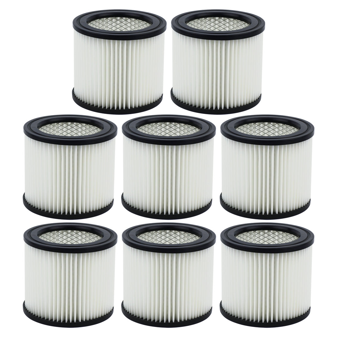 8 Pack Shop-Vac 90398 Small Cartridge Filter Type AA for Wet & Dry Vacuums 903-98 90399 903-99