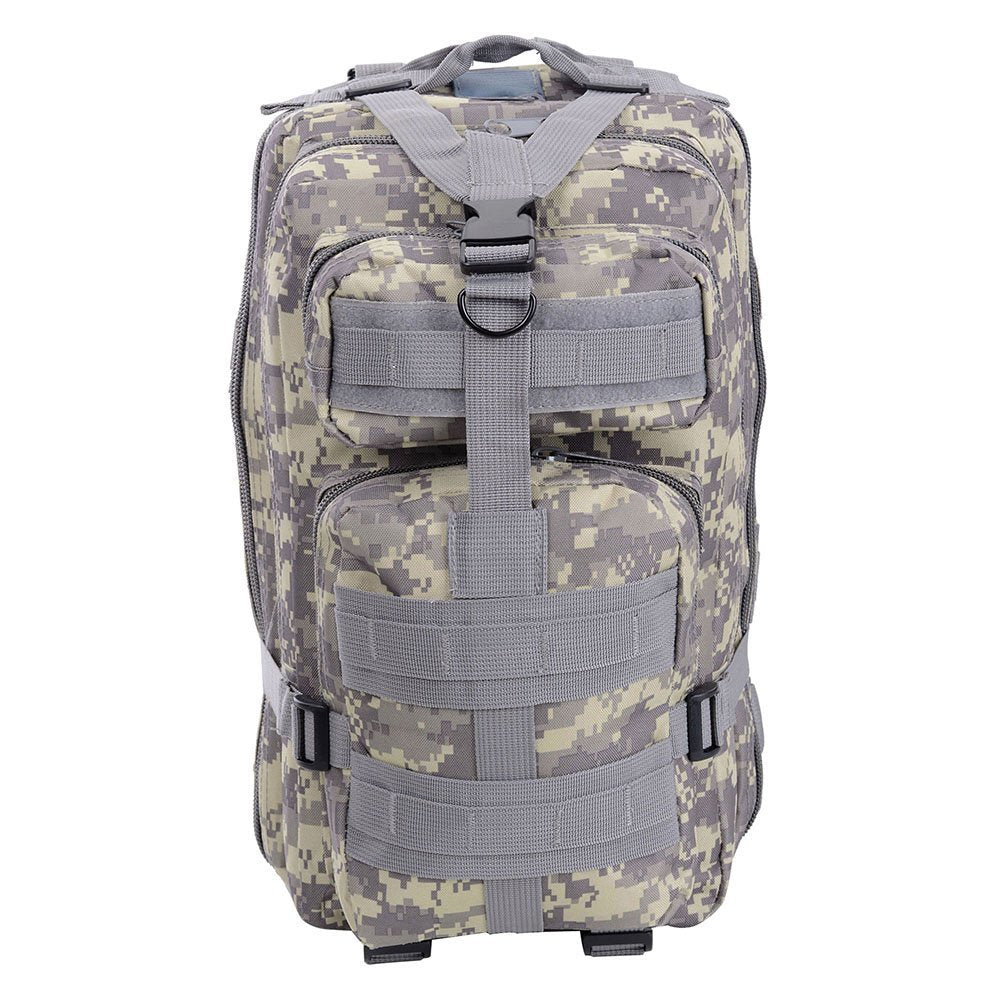 30L Military Molle Camping Backpack Tactical Hiking Travel Bag ACU