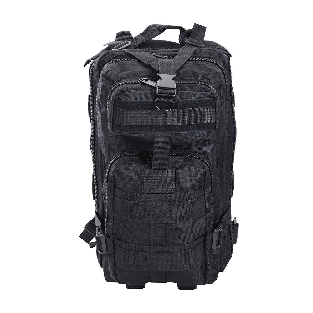 30L Military Molle Camping Backpack Tactical Hiking Travel Bag Black