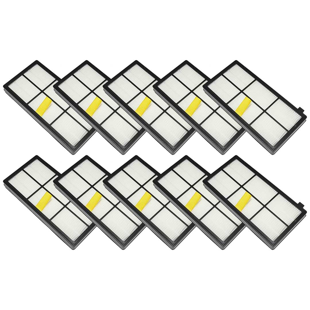 Felji 10 Pack Replacement AeroForce High-Efficiency Filters For iRobot Roomba 800 and 900 Series Part # 4415864