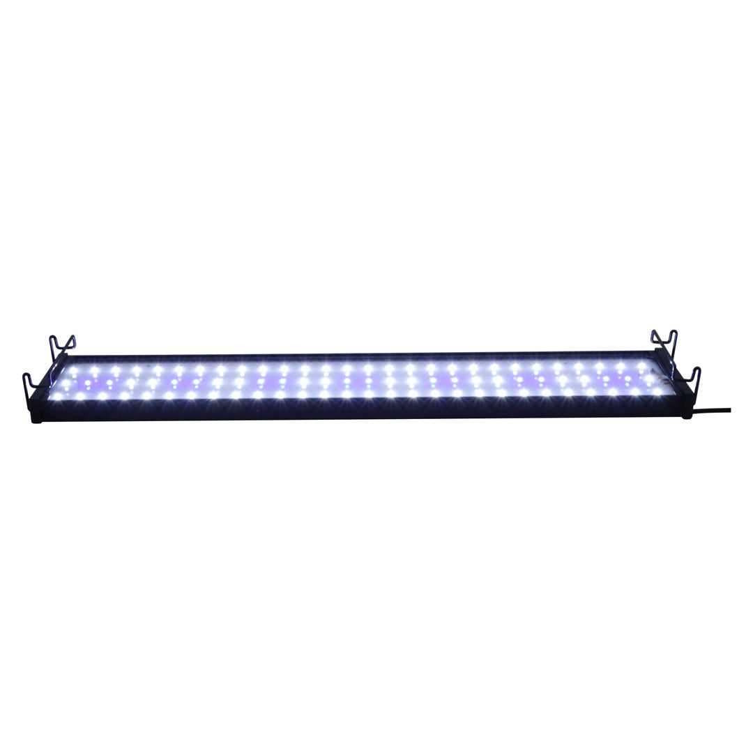 Felji 37-45 Inches 30W Aquarium Fish Tank LED Lights with Extendable Bracket