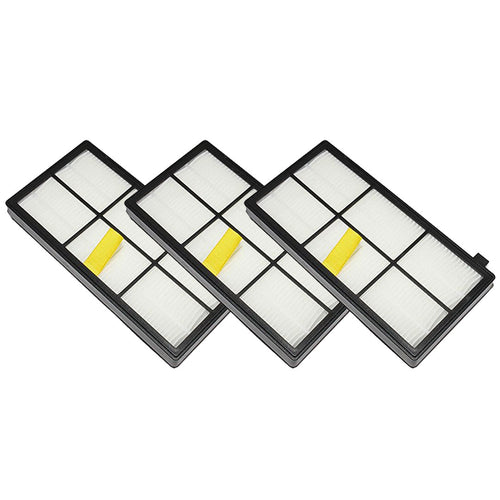Felji 3 Pack Replacement AeroForce High-Efficiency Filters For iRobot Roomba 800 and 900 Series Part # 4415864