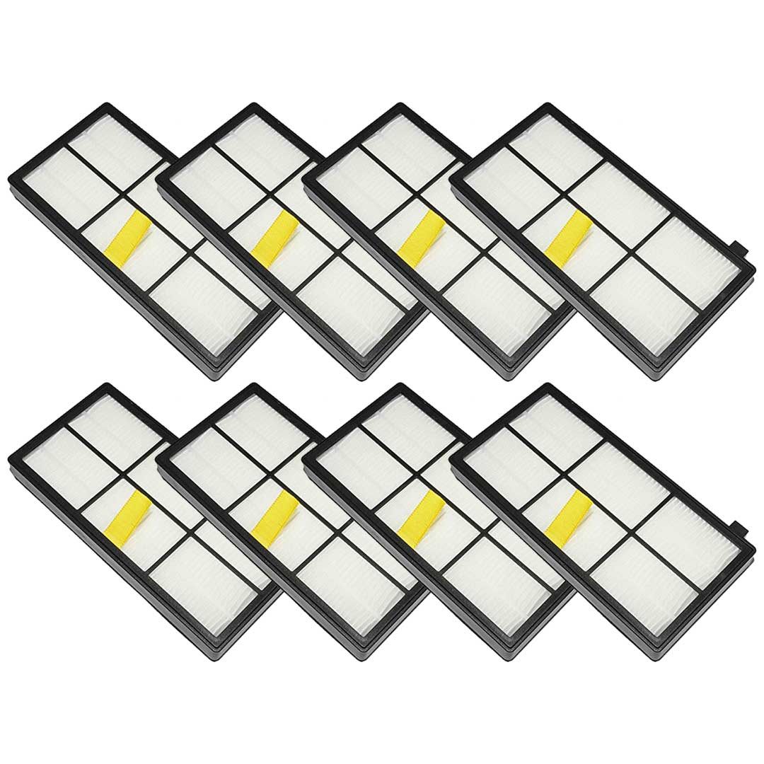Felji 8 Pack Replacement AeroForce High-Efficiency Filters For iRobot Roomba 800 and 900 Series Part # 4415864