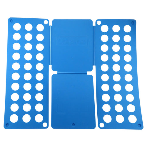 Felji Blue Flip & Fold Adult Clothes Folder Shirt Folding Board