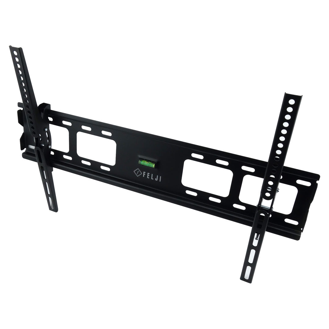 Felji Tilt TV Wall Mount Bracket 32 37 42 46 50 52 55 57 60 65 70 Inch LCD LED Plasma Flat