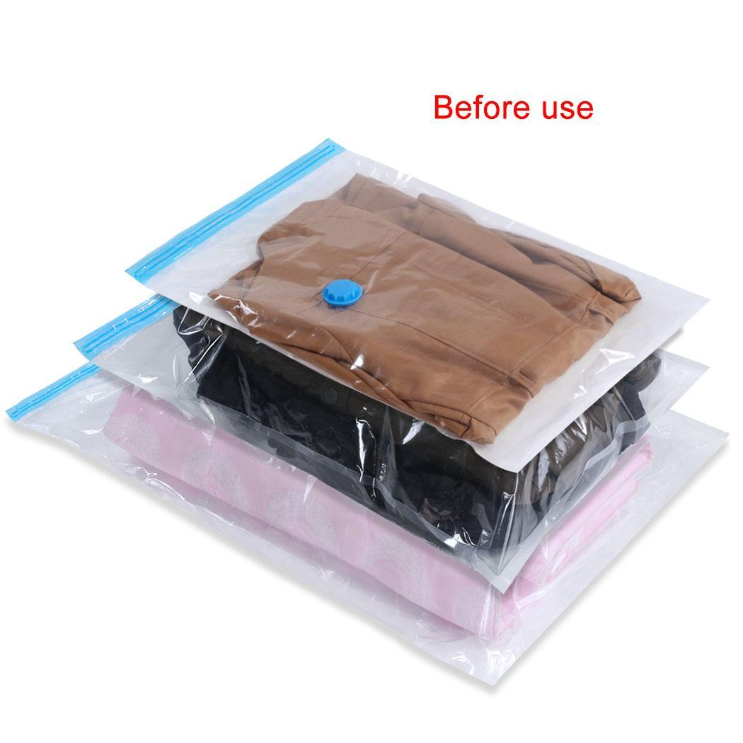 Felji Space Saver Bags Vacuum Seal Storage Bag Organizer 8 Pack (4 Medium, 4 Large)