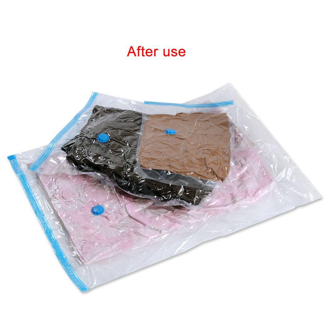Felji Space Saver Bags Vacuum Seal Storage Bag Organizer Size Jumbo 39x47 inches 4 Pack