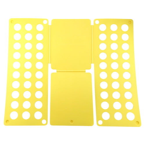 Felji Yellow Flip & Fold Adult Clothes Folder Shirt Folding Board