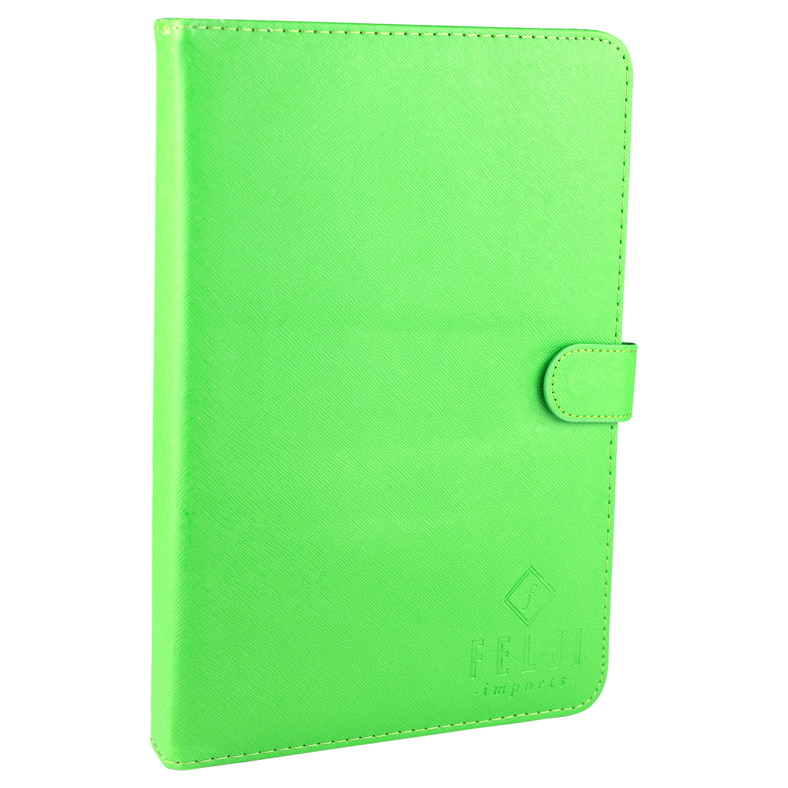 Felji Green Stand Leather Case Cover for Android Tablet 7-Inch Universal w/ USB Keyboard