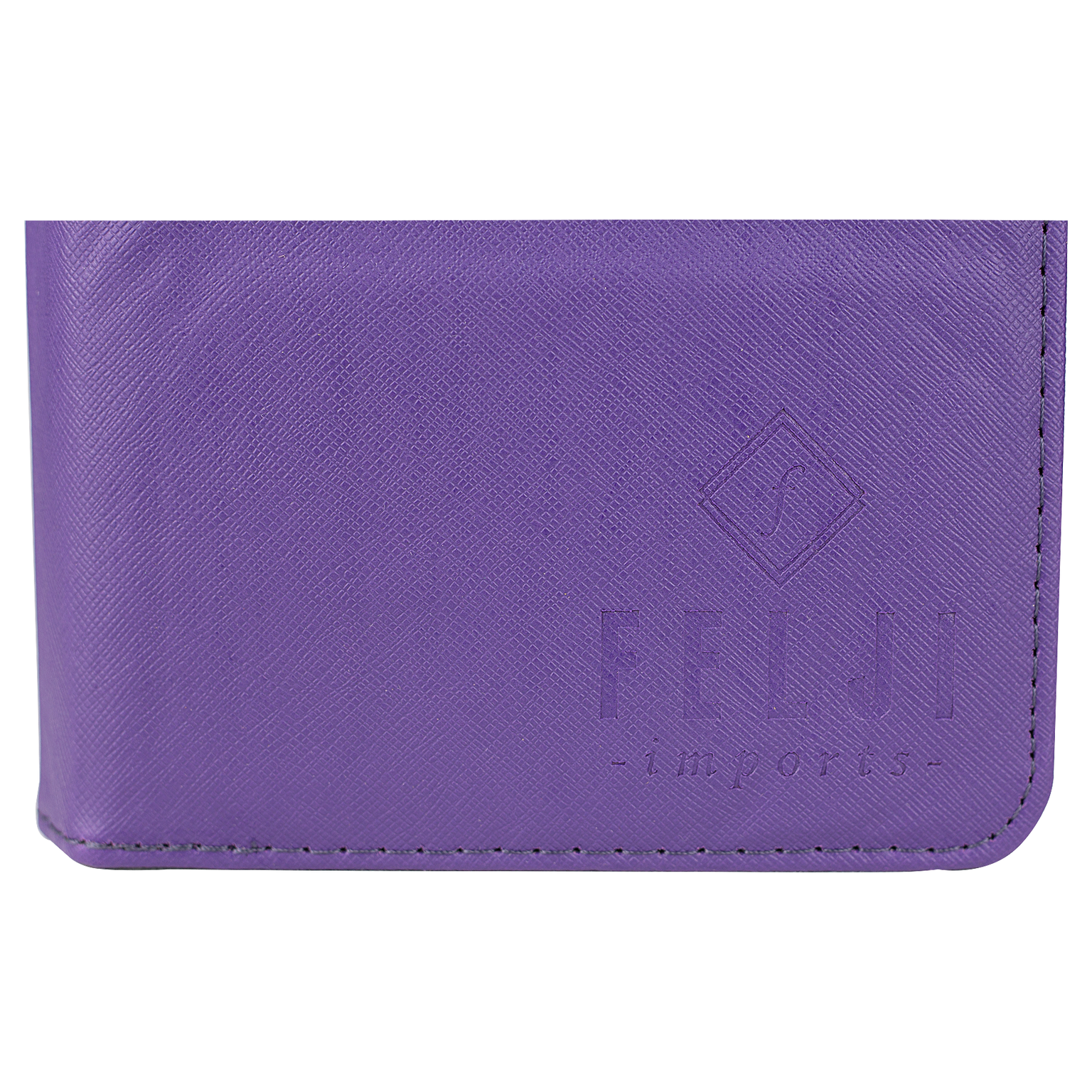 Felji Purple Stand Leather Case Cover for Android Tablet 8-Inch Universal w/ USB Keyboard