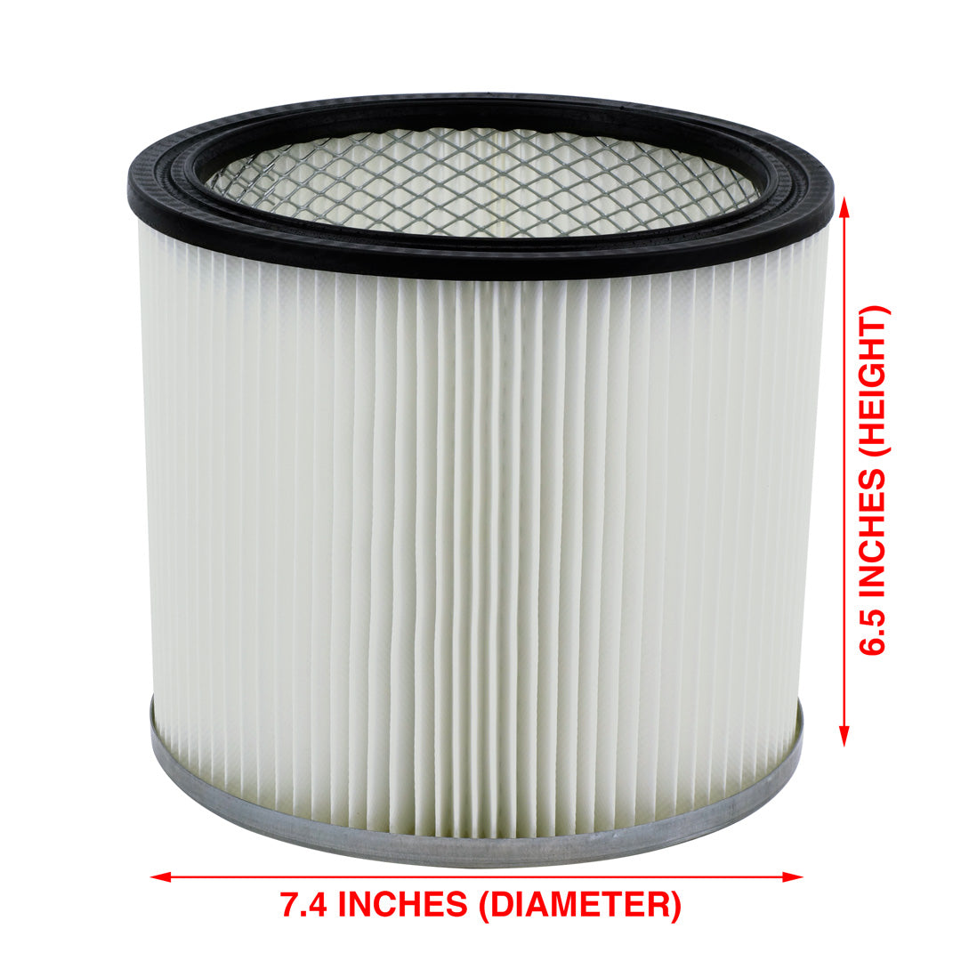 Shop-Vac 90304 9030400 Cartridge Filter Replacement Type U fits Wet & Dry Vacs