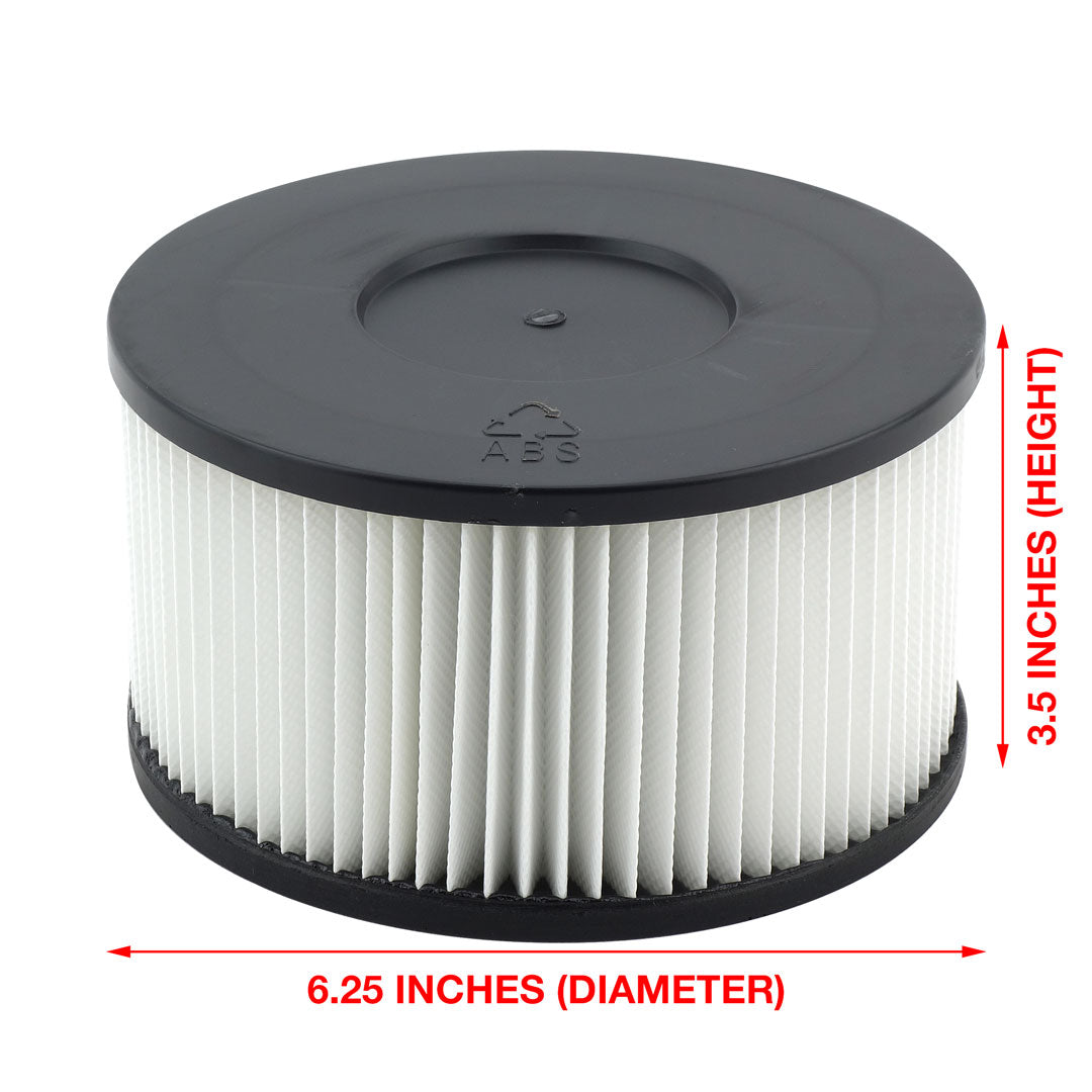 Felji Wet Dry Vac HEPA Media Filter Replacement For Felji Ash Vacuum Cleaner
