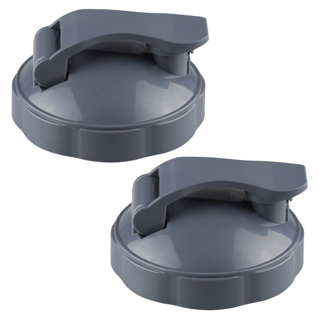 2 Pack NutriBullet Flip Top To-Go Lids for NB-101s