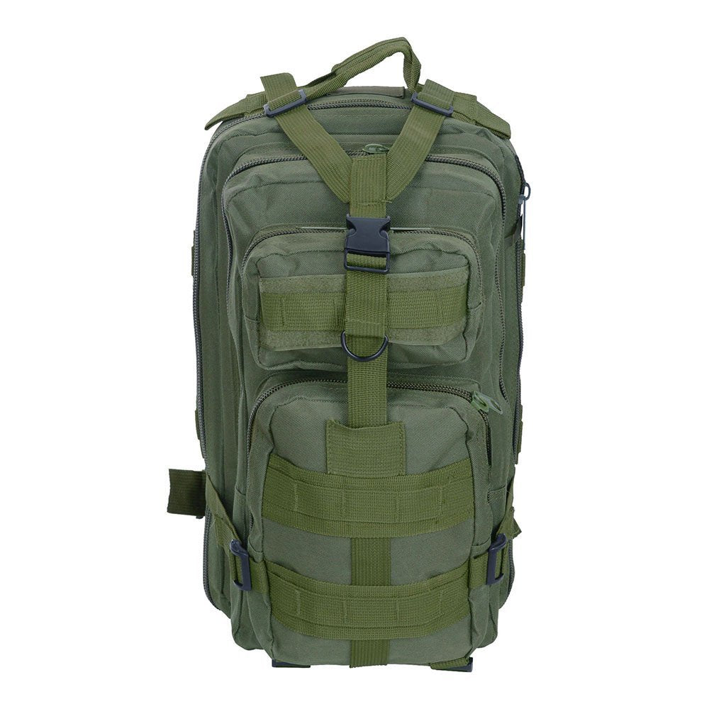 30L Military Molle Camping Backpack Tactical Hiking Travel Bag Green