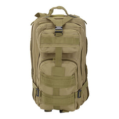 30L Military Molle Camping Backpack Tactical Hiking Travel Bag Khaki