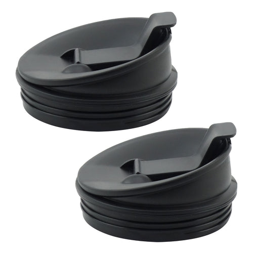2 Pack Nutri Ninja Sip & Seal Lids Replacement Model 408KKU641 for BL480 BL490 BL640 & BL680 Auto IQ Series