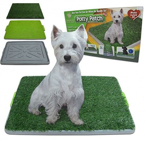 Pet Potty Dog Training Pad Zoom 25x20 Full Set + Pet Potty Litter Tray