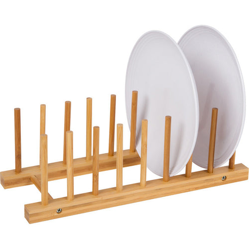 Felji Bamboo Plate Rack Pot Holder