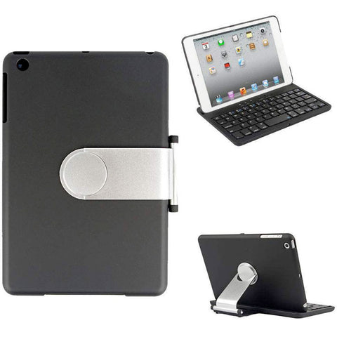 Felji Cover Case Swivel Rotary Stand Bluetooth Wireless Keyboard iPad Mini White