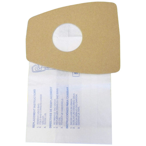 Eureka Paper Vacuum Bag MM 3670-3690 Mighty Mite Canister 9 Pack Part # 60295A  60295B  60295C  60296D