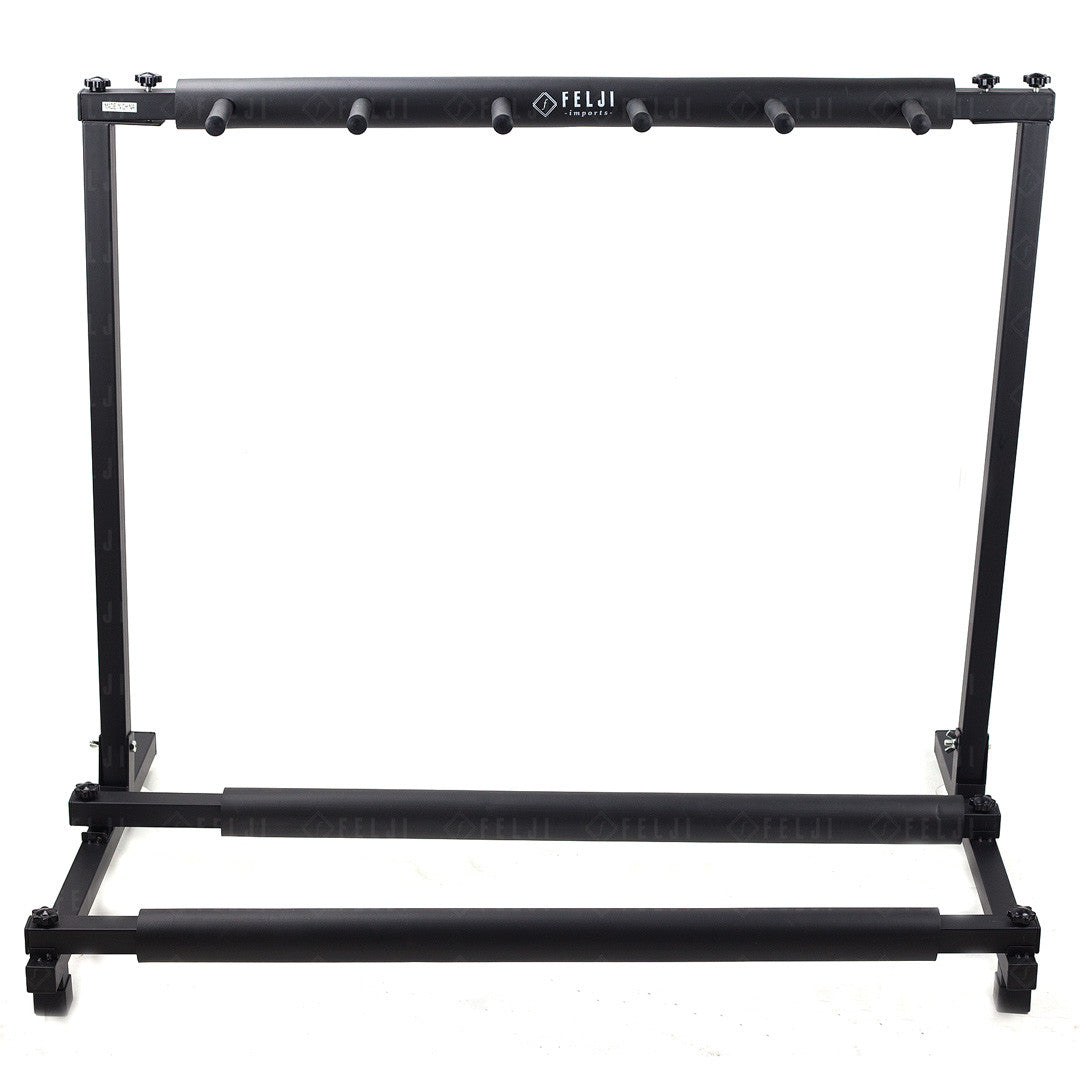 Felji 5 Guitar Stand Holder Folding Stand Rack for Band Stage Bass Acoustic Guitar