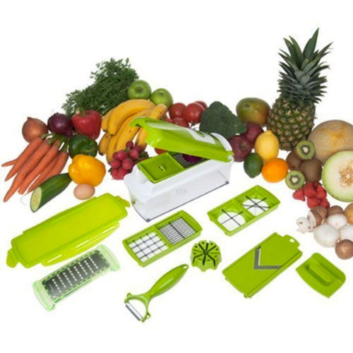 Felji Nicer Dicer Plus Multi Chopper 12 Pieces