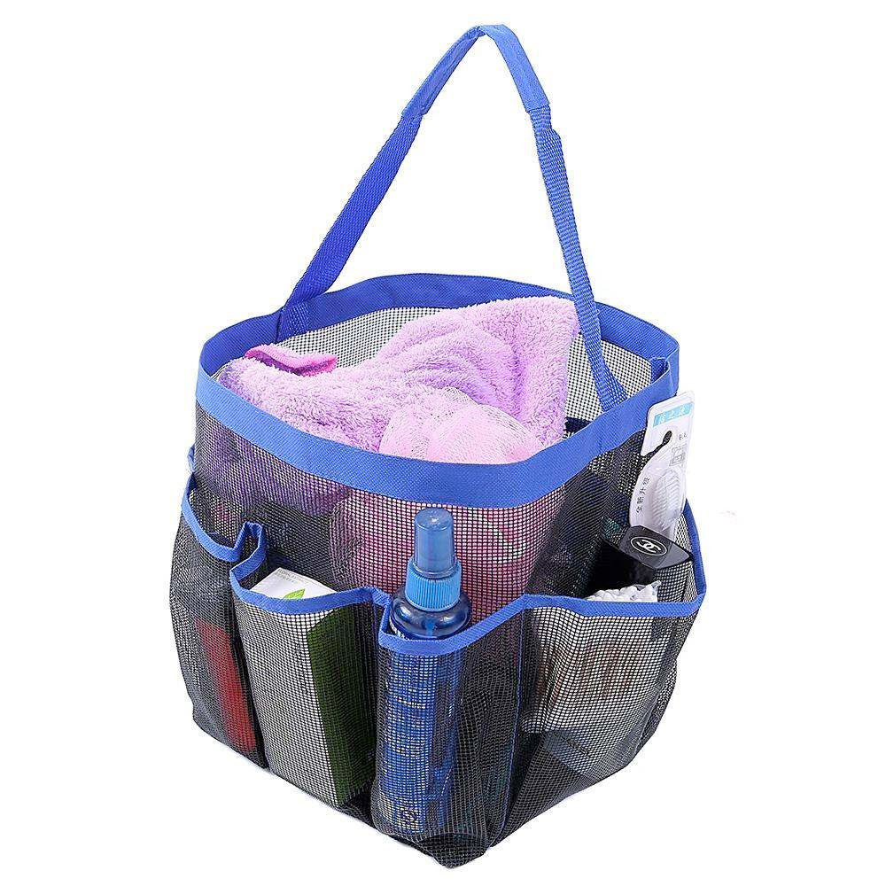 Felji Shower Caddy Tote Toiletry Gym Beach Pool Dorm Baby Diaper Bag M