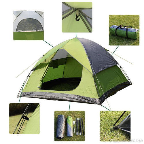 Felji 1 Room 2-3 Person Waterproof Camping Quick Tent