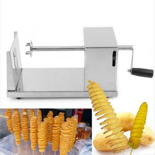 Felji Stainless Steel Spiral Slicer and Vegetable Cutter