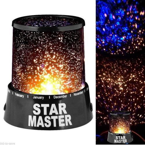 Felji LED Starry Night Sky Projector Lamp Kids Gift Star light Cosmos Master