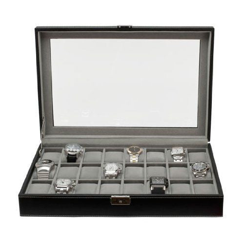 Felji Large Watch Box for 24 Watches