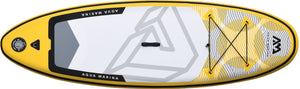 Aqua Marina Vibrant BT-19VIP Top of Yellow Inflatable Paddleboard, iSUP