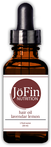 Hair Oil - Lavender Lemon  (1 oz.) - JöFin Nutrition