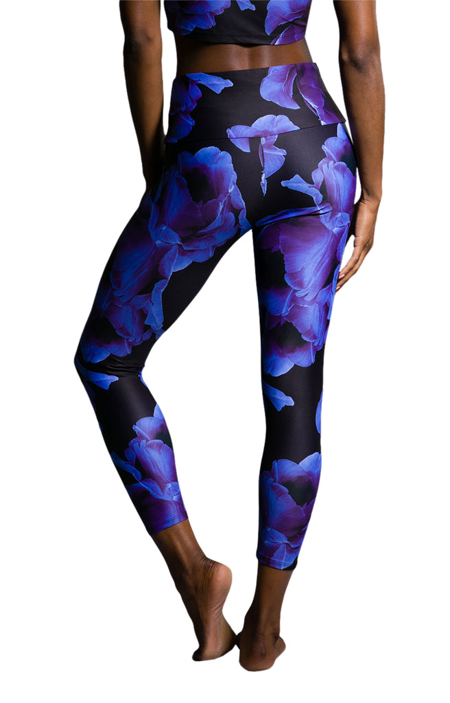 Midnight Floral Midi Legging