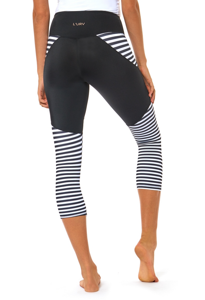 Nautical Crop 3/4 Legging