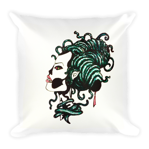 Meanwhile In los Muertos... Square Pillow