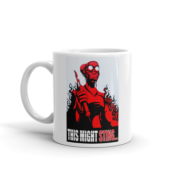 The Doktor: This Might Sting... Mug