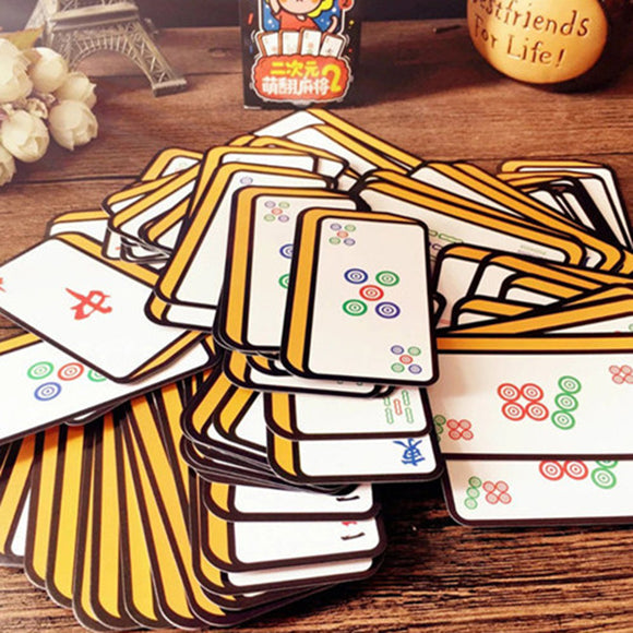 Chinese Style Mahjong Playing Cards