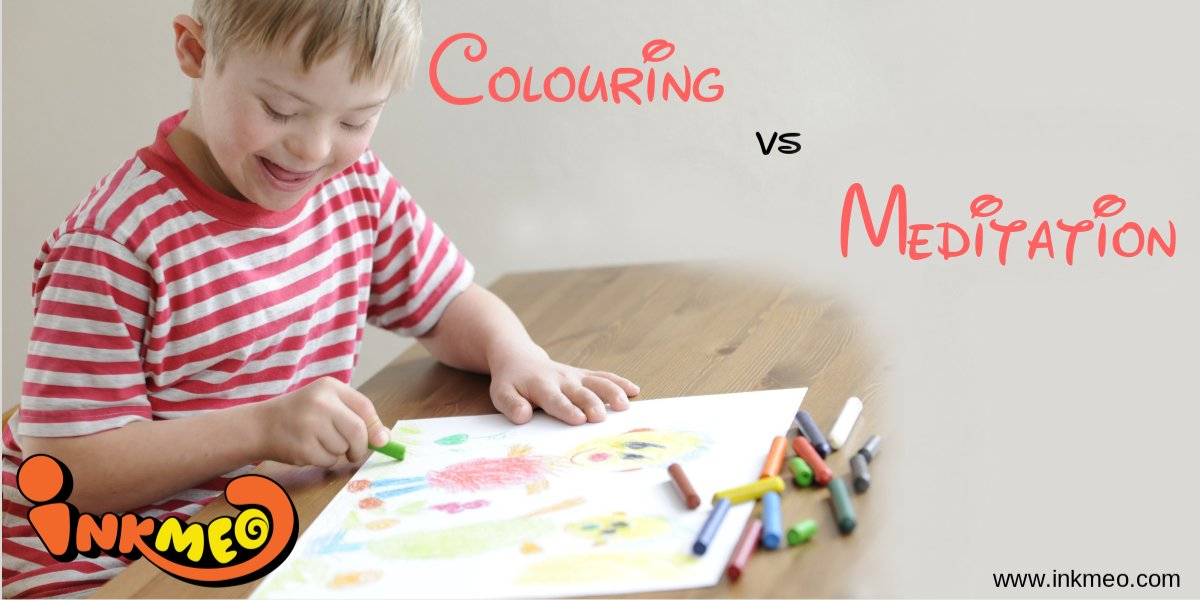 Colouring vs Meditation | Inkmeo