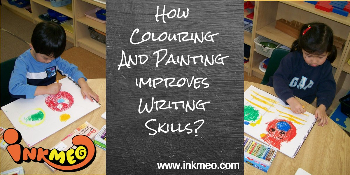 How Colouring And Painting improve Writing Skills? | Inkmeo