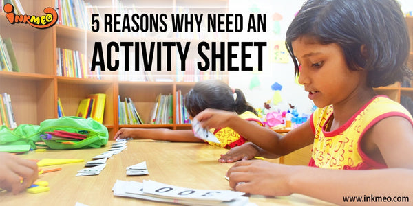 5 reasons Why need an Activity Sheet - Banner