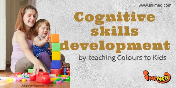 Cognitive skills development by teaching Colours to Kids-Banner