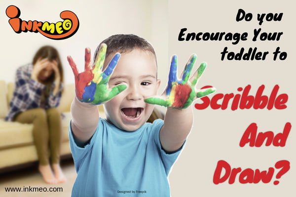 Do you Encourage Your toddler To Scribble And Draw-Banner-Designed by Asier_Relampagoestudio/peoplecreations/Freepik