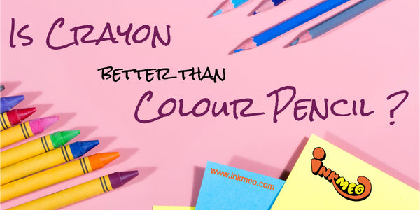 Is Crayon Better Than Colour Pencil ? - Banner