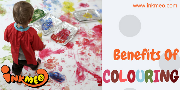Benefits of Colouring - Banner