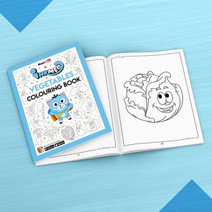 Vegetables Colouring Book - Inkmeo