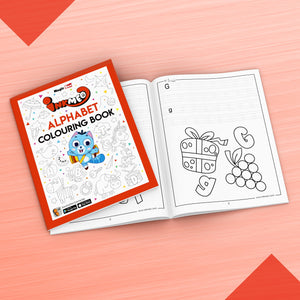 Alphabet Colouring Book - Inkmeo