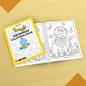 Aquarium Colouring Book - Inkmeo